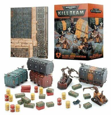 Kill Team Killzone: Sector Munitorum Environment Expansion  - Warhammer 40K - Games Workshop