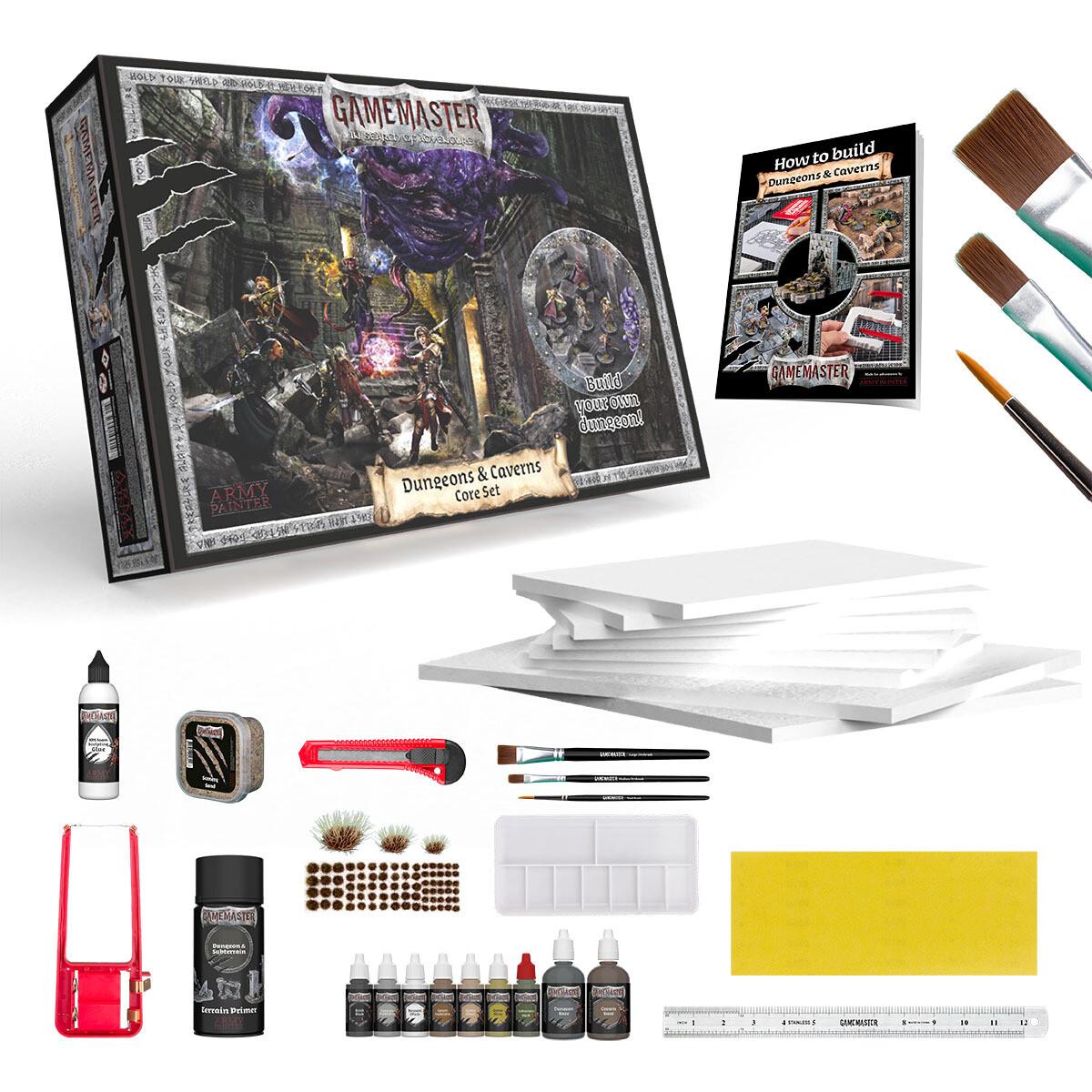 Gamemaster: Dungeons & Caverns Core Set - Army Painter
