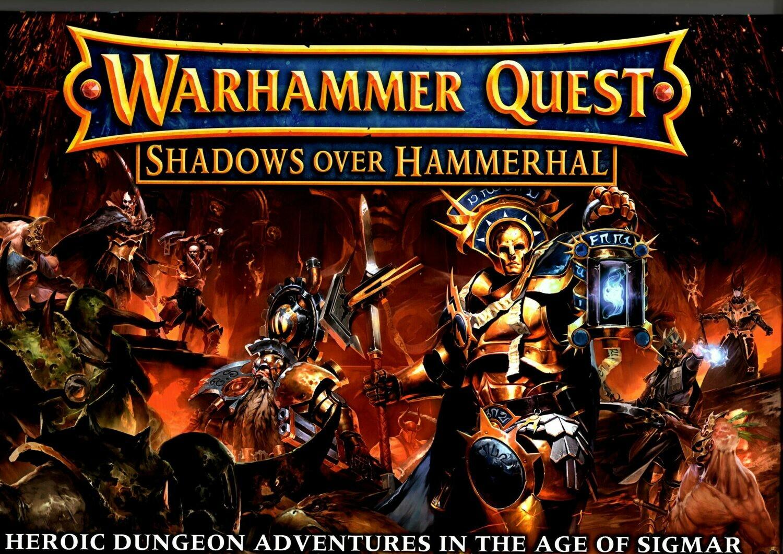 Warhammer Quest: Shadows over Hammerhall - Games Workshop