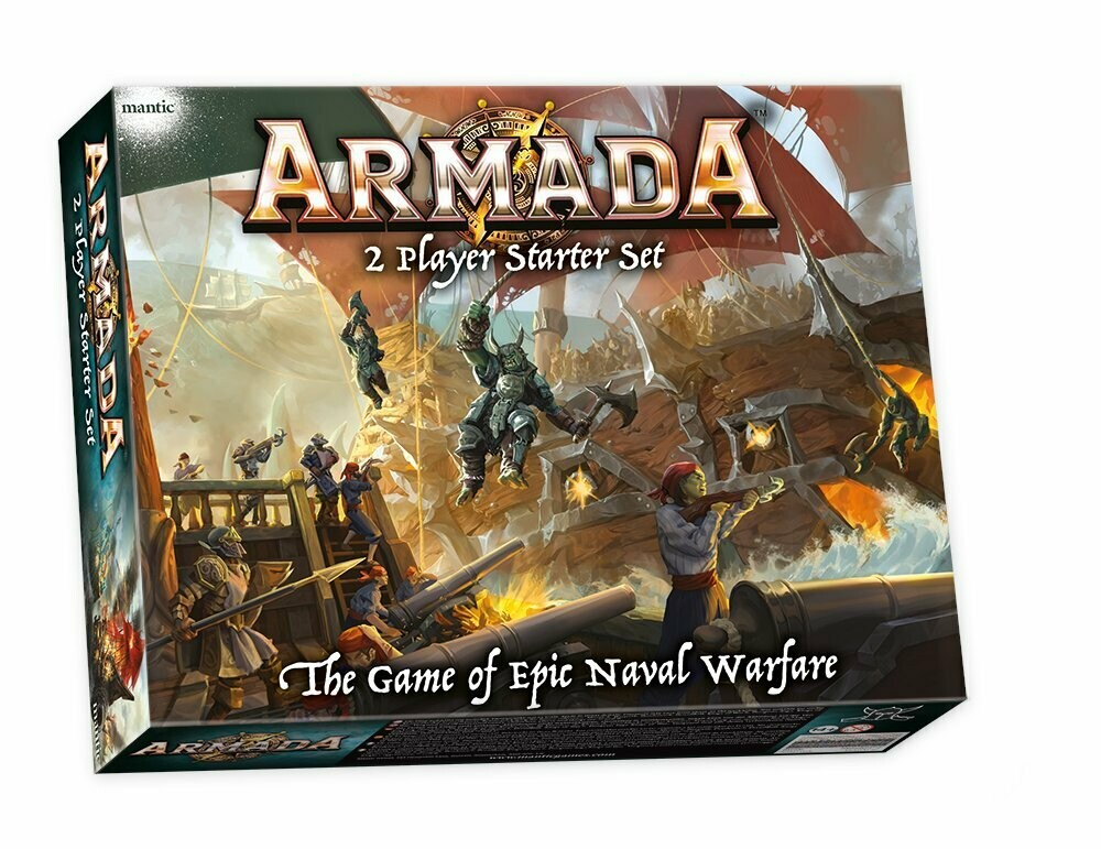 Kings Of War: Armada Two Player Starter Set – Mantic Games
