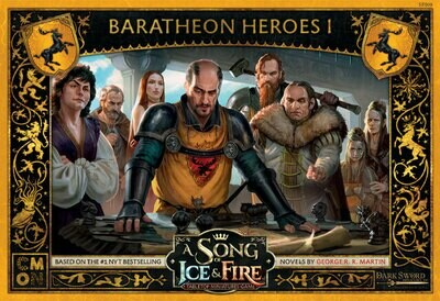 A Song Of Ice And Fire Core Box - Baratheon Heroes Box 1 - EN
