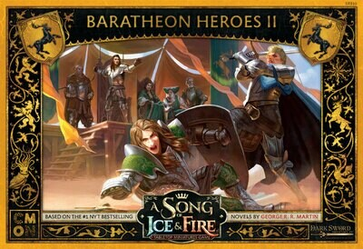 A Song Of Ice And Fire Core Box - Baratheon Heroes Box 2 - EN