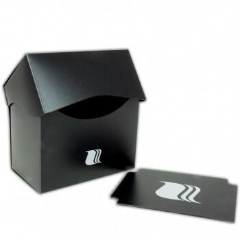 Deck Holder Horizontal - for 80+ Cards - Black