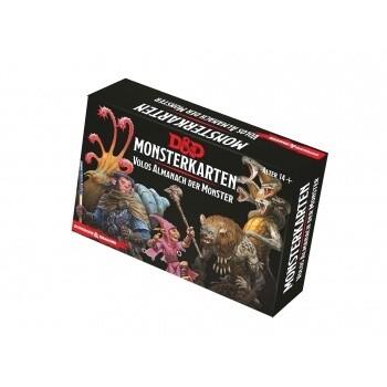 Dungeons & Dragons - Monsterkarten - Volos Almanach der Monster - DE