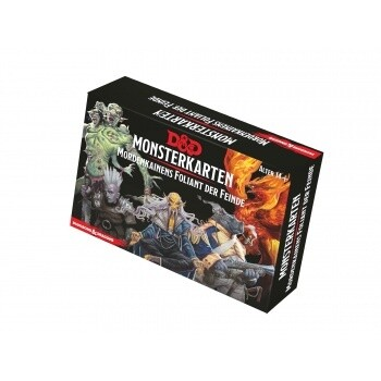 Dungeons & Dragons - Monsterkarten - Mordenkainens Foliant der Feinde - DE