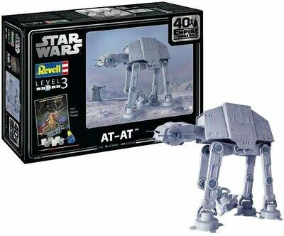 Star Wars At-At 1:53 Revell - Level 3 Model Kit