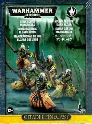 MO: Mandrakes - Drukhari - Warhammer 40.000 - Games Workshop