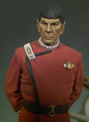 Space Officer 54 mm 1/32 - Andrea Miniatures