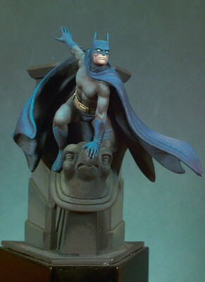 The Caped Crusader 54 mm 1/32 - Andrea Miniatures