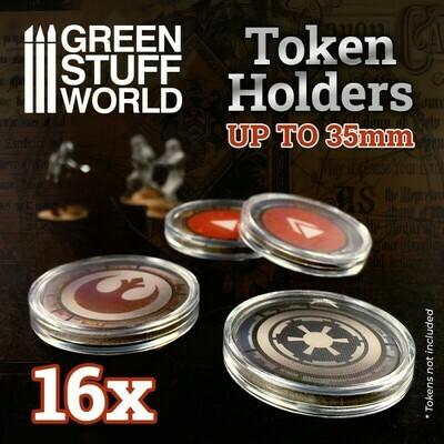 Token Holders 35mm - Greenstuff World