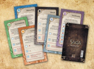 SAGA Ära der Magie – Magiekarten (36)