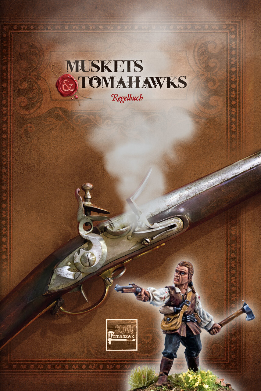 Muskets & Tomahawks Regelbuch (Deutsch)- Muskets and Tomahawks - North Star Figures