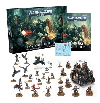 Frömmigkeit und Folter (Deutsch) - Warhammer 40.000 - Games Workshop
