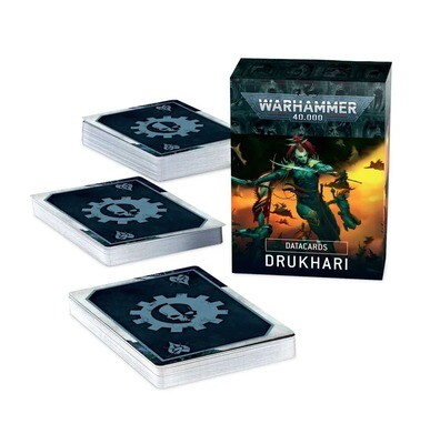 Datakarten: Drukhari (Deutsch) - Warhammer 40.000 - Games Workshop