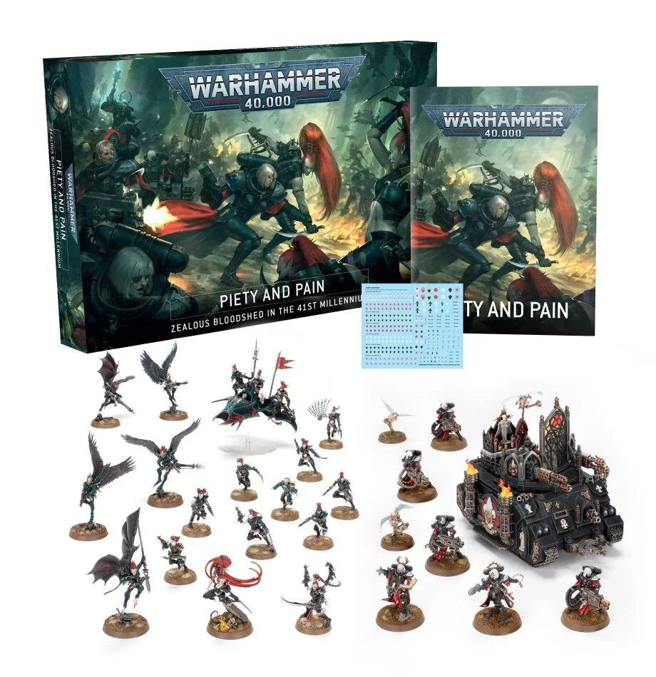 Piety and Pain (Englisch) - Warhammer 40.000 - Games Workshop
