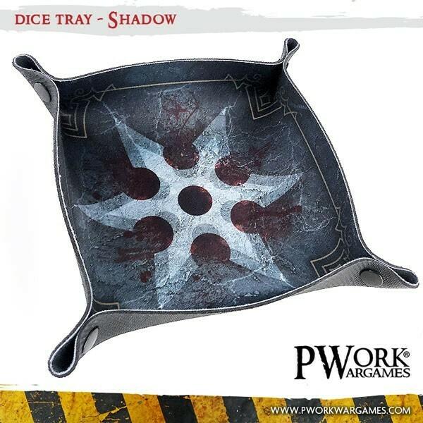 Dice Tray - Shadow - PWork Wargames