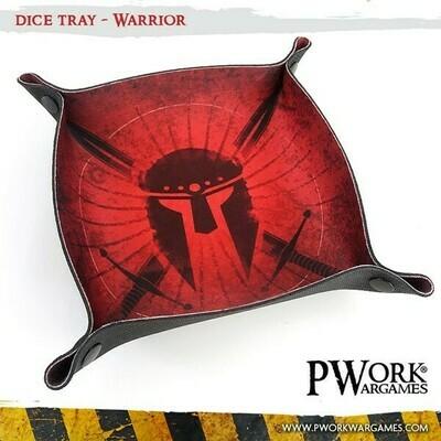 Dice Tray - Warrior - PWork Wargames