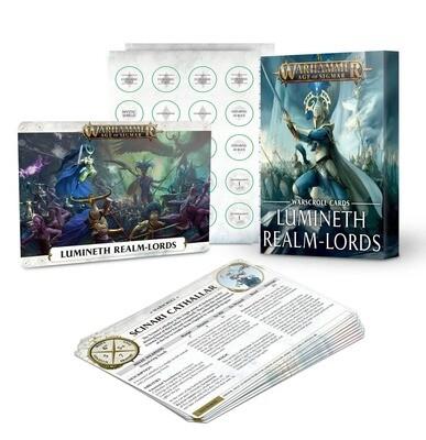 Schriftrollen-Karten: Lumineth Realm-lords NEW - Warhammer Age of Sigmar - Games Workshop