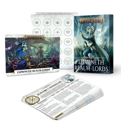 Warscroll Cards: Lumineth Realm-lords (Englisch) NEW - Warhammer Age of Sigmar - Games Workshop