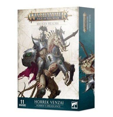 Broken Realms: Horrek Venzai – Horreks Schreckenslanze - Ossiarch - Warhammer Age of Sigmar - Games Workshop