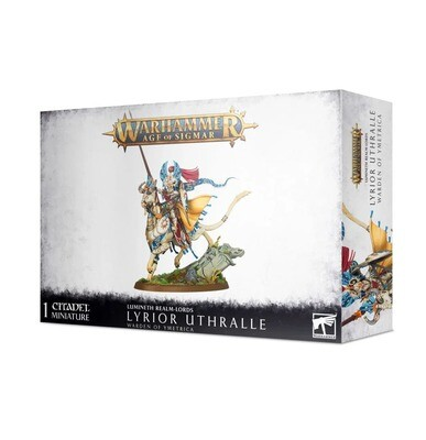 Lyrior Uthralle, Warden of Ymetrica / Vanari Lord Regent - Lumineth  - Warhammer Age of Sigmar - Games Workshop
