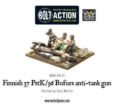 Finnish 37 PstK/36 Bofors anti-tank gun - Allies - Bolt Action