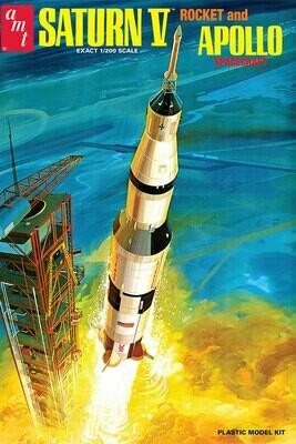 Saturn V Rocket and Apollo Spacecraft - Gunpla