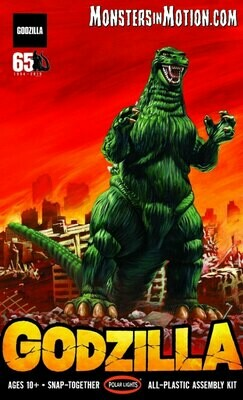 Godzilla 1/250 Scale Model Kit Aurora Re-Issue by Polar Lights - Gunpla