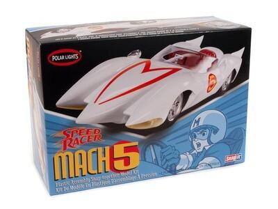Speed Racer Mach 5 1/25 Scale Model Kit - Gunpla