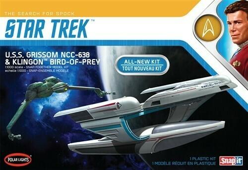 Star Trek - U.S.S. Grissom NCC-638  & Klingon Bird-of-Prey - Gunpla