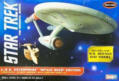 Star Trek - U.S.S. Enterprise Space Seed Edition - Gunpla