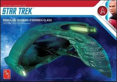 Star Trek - AMT 1125M 1/3200 Romulan Warbird 2T Plastic Model Kit - Gunpla