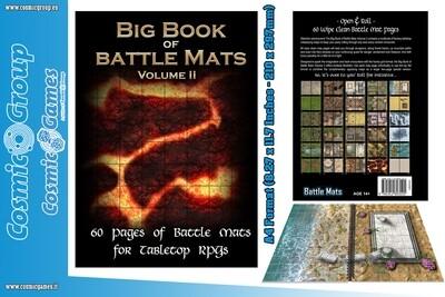BIG BOOK OF BATTLE MATS VOL.2 (A4) - RPG