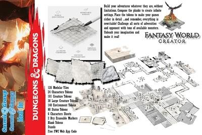 Fantasy World Creator DUNGEON & TOWN CORE BOX - RPG