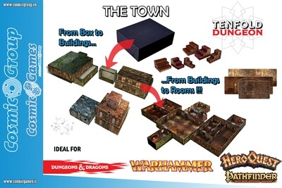 TENFOLD DUNGEON THE TOWN - RPG