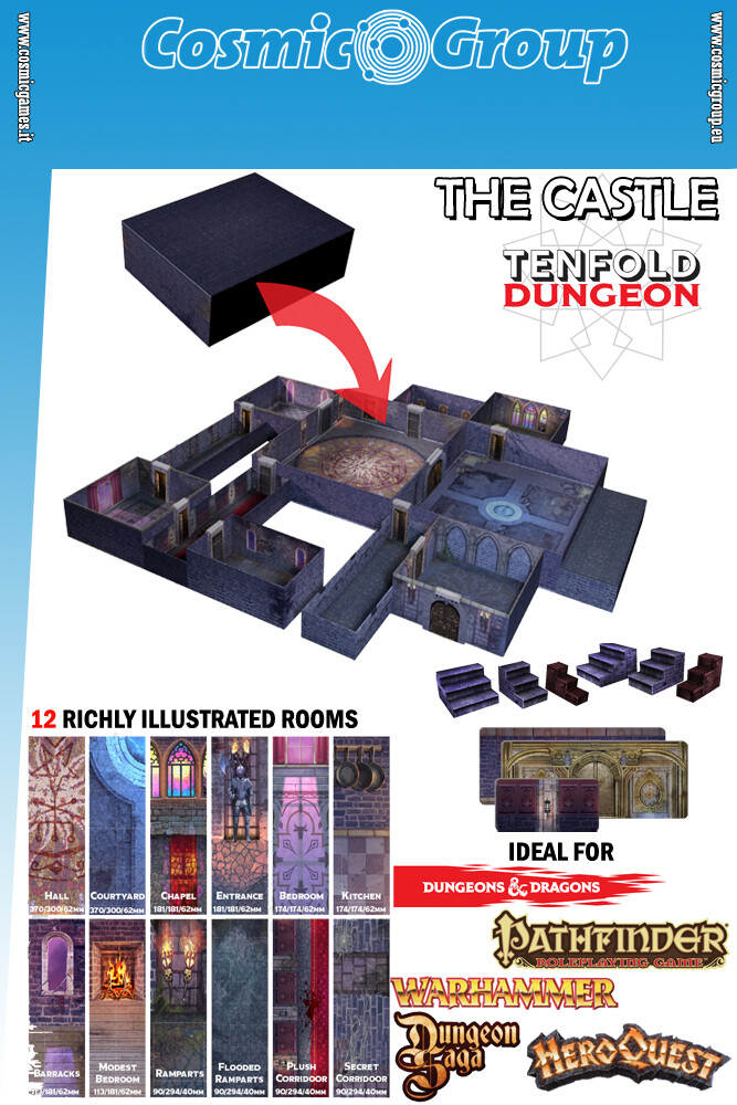 TENFOLD DUNGEON THE CASTLE - RPG