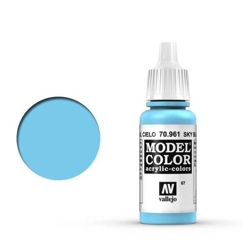 Model Color Sky Blue - Vallejo - Farben