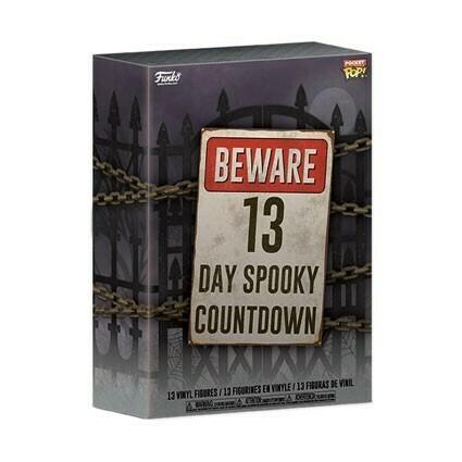 13 Tage Spooky Countdown Horror Pocket POP! Kalender - Funko
