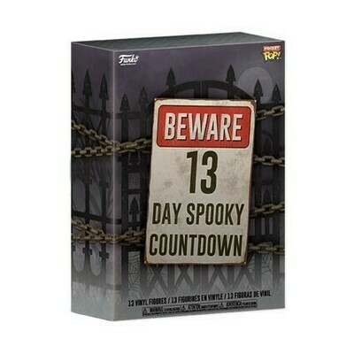 13 Tage Spooky Countdown Horror Pocket POP! Kalender - Funko