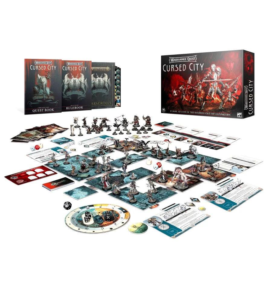 Warhammer Quest: Cursed City (Englisch) - Games Workshop