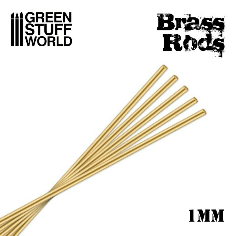 Pinning Brass Rods 1mm - Greenstuff World
