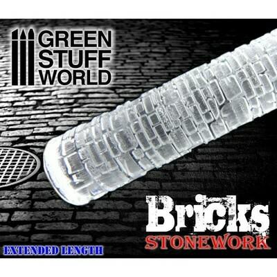 STRUKTURWALZE Rolling Pin Bricks - Greenstuff World