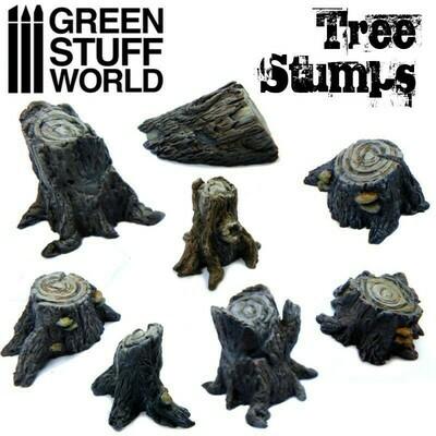 Tree Stumps - Baumstümpfe - Greenstuff World