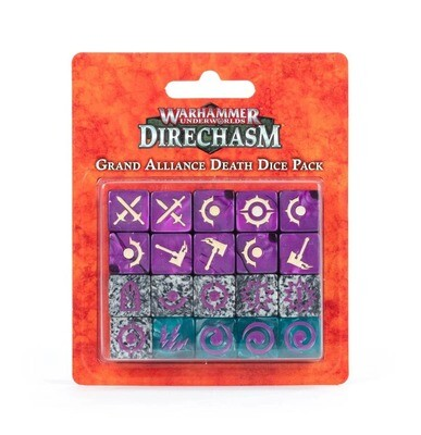 Warhammer Underworlds: Direchasm – Würfel des Großen Bündnisses des Todes - Warhammer Underworlds - Games Workshop
