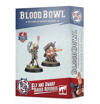 Parteiische Schiris: Elf und Dwarf Biased Referees - Blood Bowl - Games Workshop