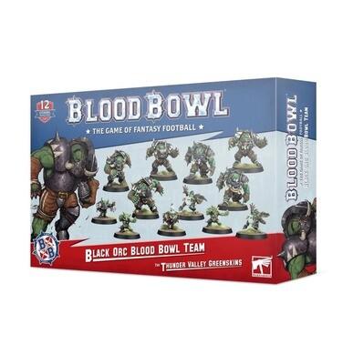 Black-Orc-Team für Blood Bowl: Die Thunder Valley Greenskins - Blood Bowl - Games Workshop