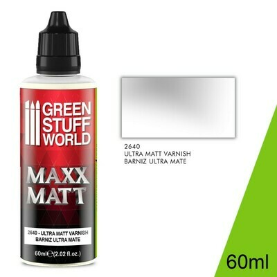 Maxx Matt Varnish 60ml - Ultramate - Greenstuff World