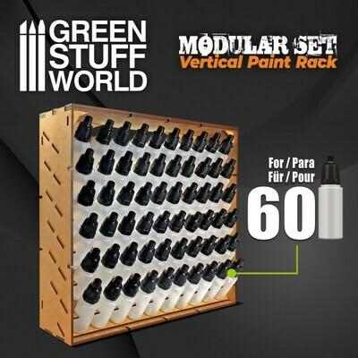 Modular Paint Rack - VERTICAL - Farbregal Ständer - Greenstuff World