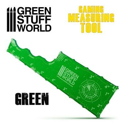 Gaming Measuring Tool - Green - Greenstuff World