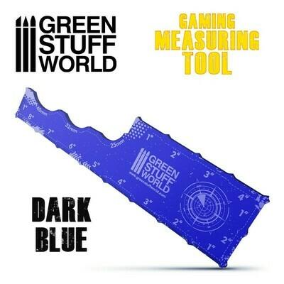 Gaming Measuring Tool - Dark Blue - Greenstuff World